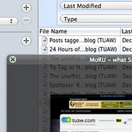 FileSpot 2.1 released: Supercharged Spotlight interface