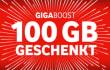 Giga Boost: Vodafone verschenkt ab heute 100 GB Datenvolumen