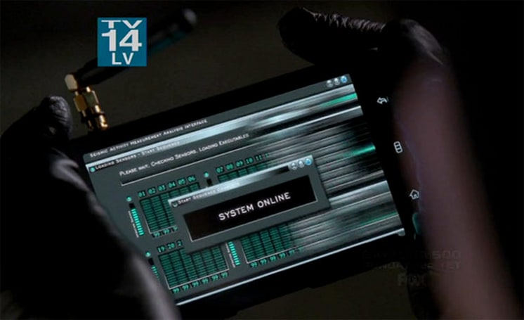 Screen Grabs: Dell Streak serves as seismograph on Fringe, Android nowhere to be found