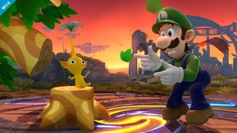 Luigi's doing the rounds in Super Smash Bros, Rayman Legends