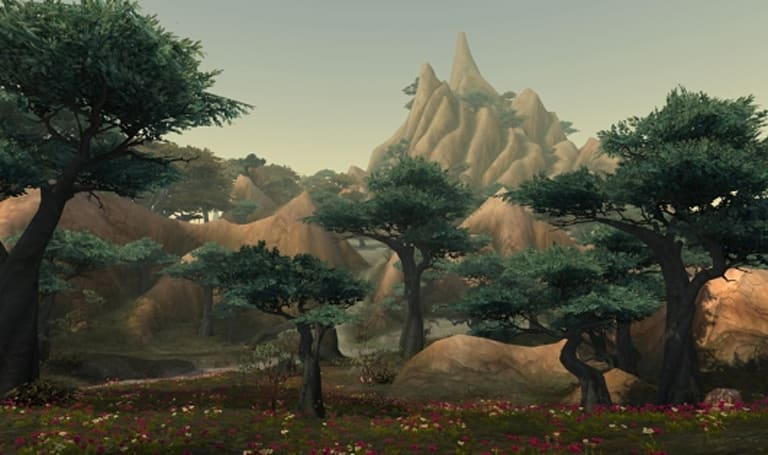 World of Warcraft takes you on a tour of Spires of Arak's art
