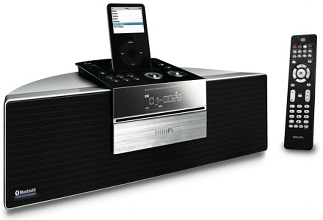 Philips's BTM-630 Bluetooth Entertainment System finally lives