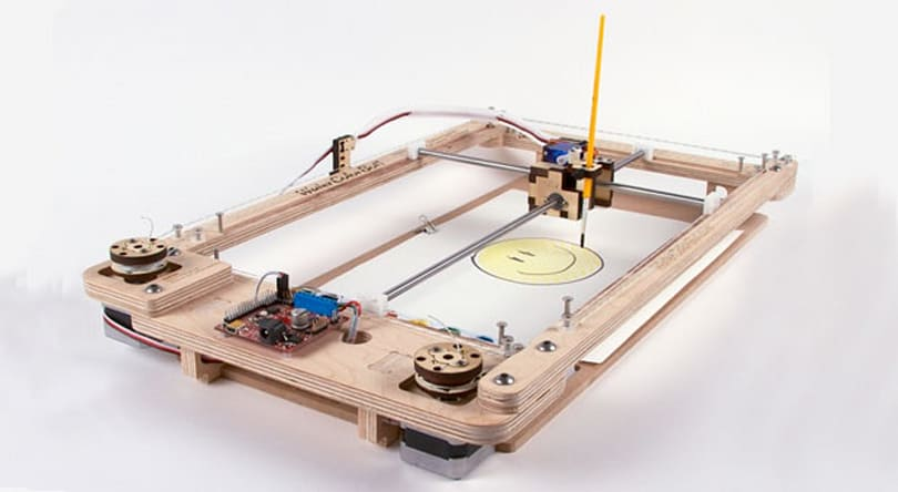 Sylvia's WaterColorBot takes to Kickstarter for the usual reason (video)