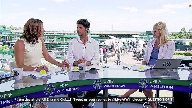Twitter kicks off sports streaming with Wimbledon
