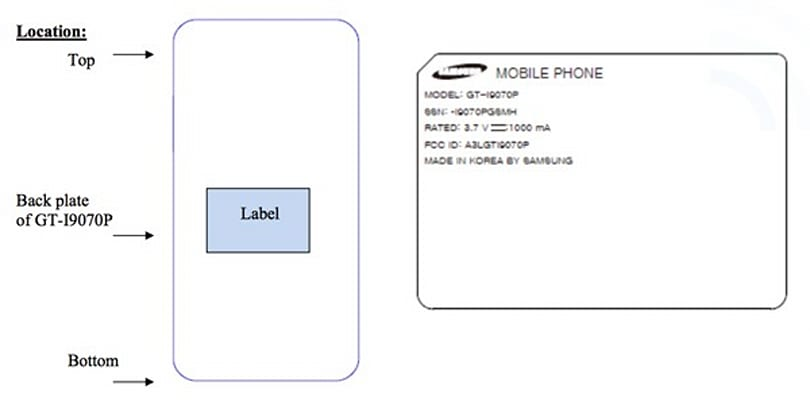 Samsung Galaxy S Advance sets a fire in the FCC