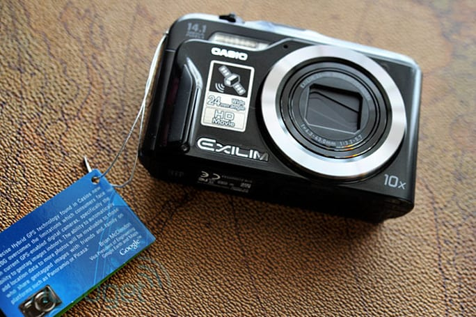 Casio Exilim EX-H20G (with Hybrid GPS) camera review