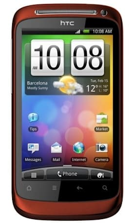 HTC Desire S gets a candy apple makeover exclusively at Vodafone UK