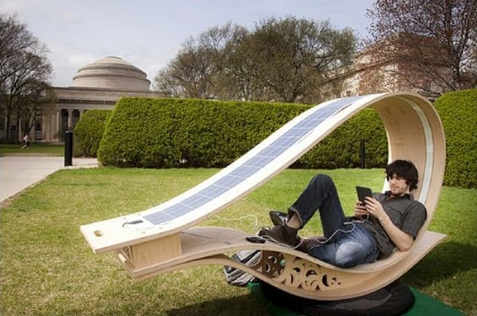 SOFT Rockers combine solar panels and moving furniture to charge your gadgets