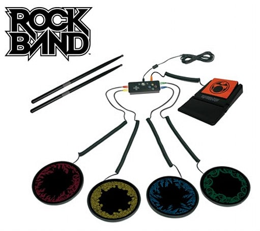 Mad Catz's brilliant Rock Band Portable Drum Kit for Xbox 360 now on sale