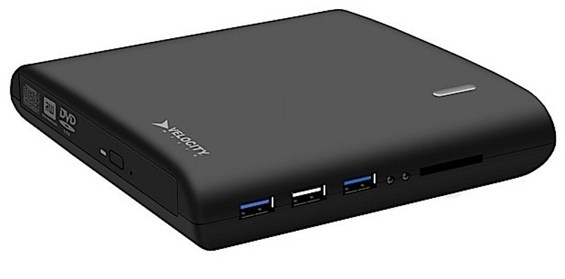 VMultra bundles USB hub, DVD drive, SD slot and 500GB HDD to form ultimate laptop peripheral