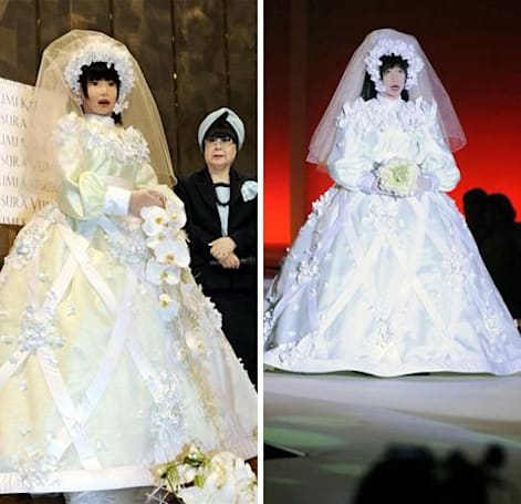 Video: HRP-4C 'fashion robot' is getting married, won't shut up about it