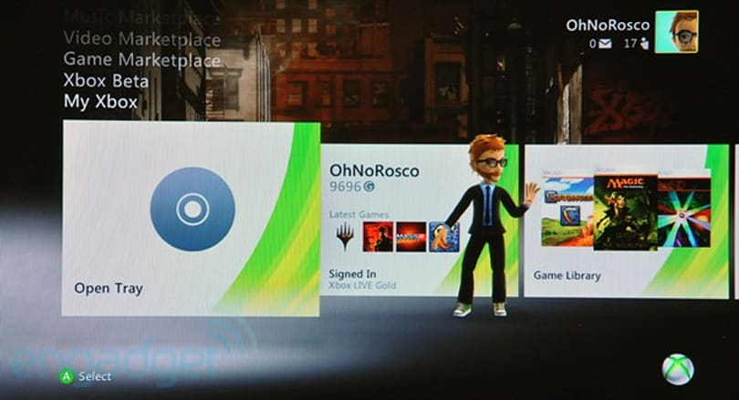 Xbox 360 Dashboard update is out!