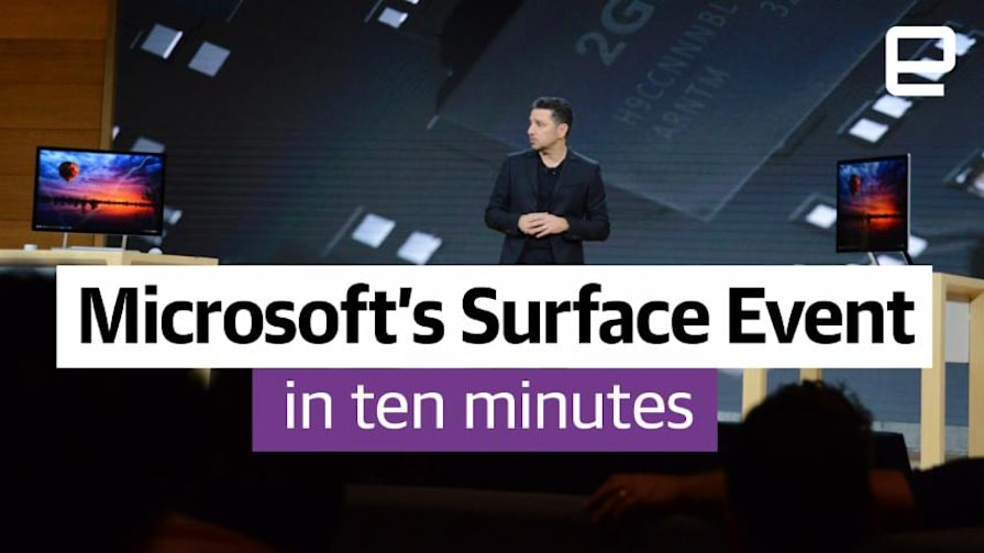 Microsoft's Surface Event in 10 minutes