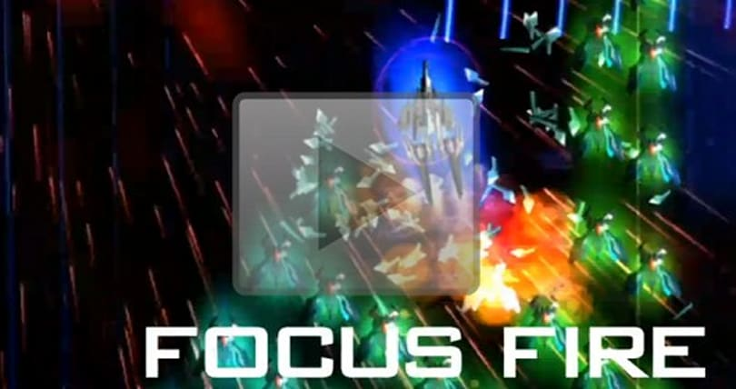 Focus your attention on Galaga Legions DX