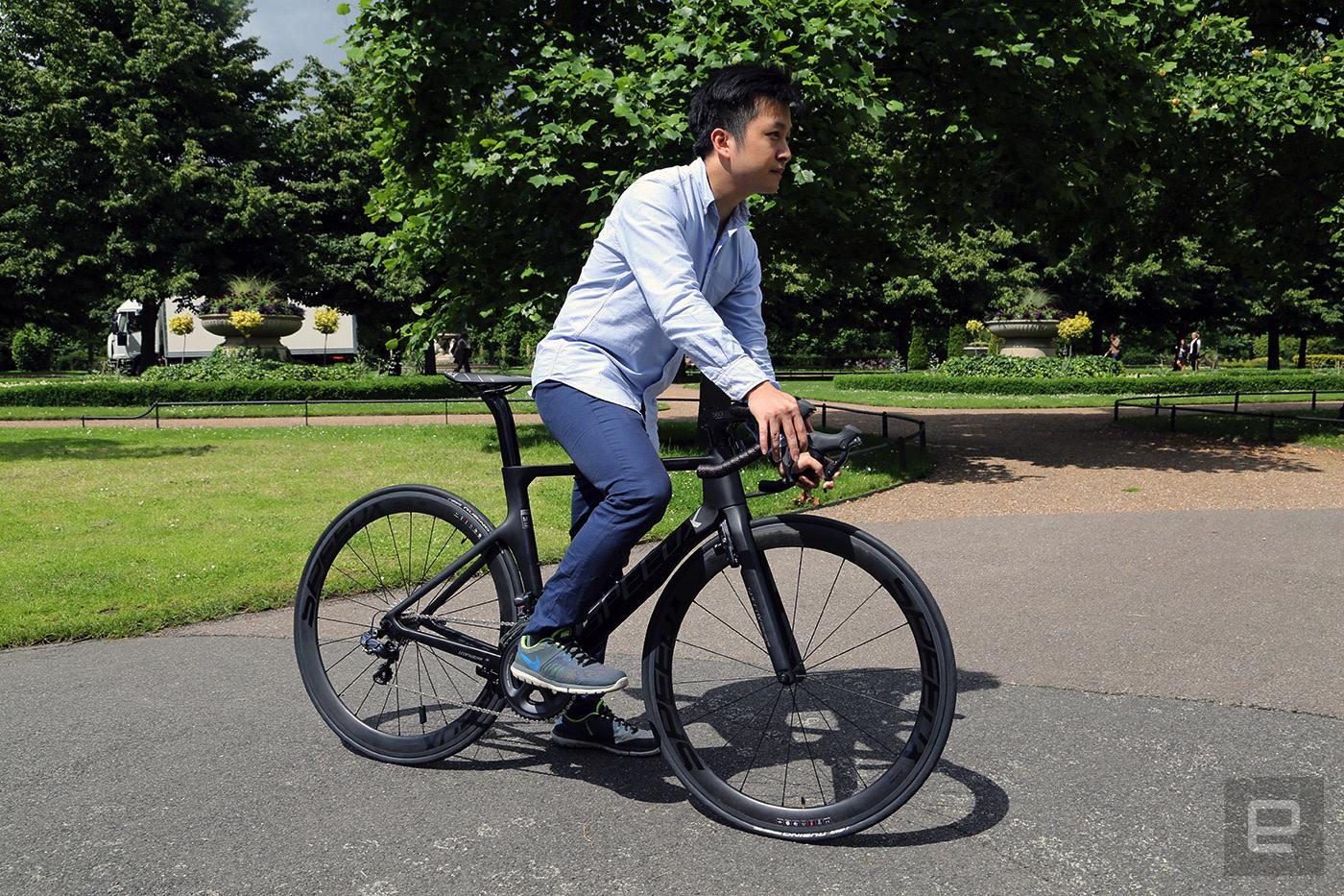 Riding The Speedx Leopard  A Smarter Carbon Road Bike