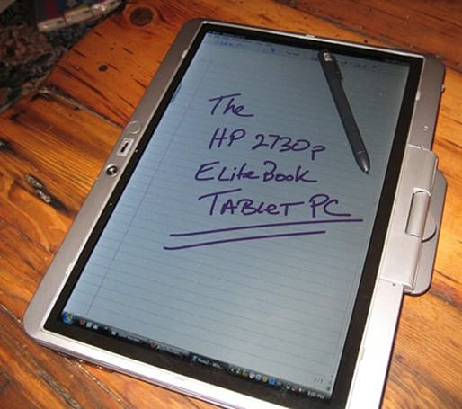HP's 2730p EliteBook tablet PC reviewed, seriously loved