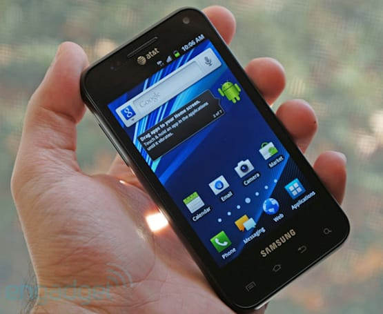Samsung Captivate Glide review