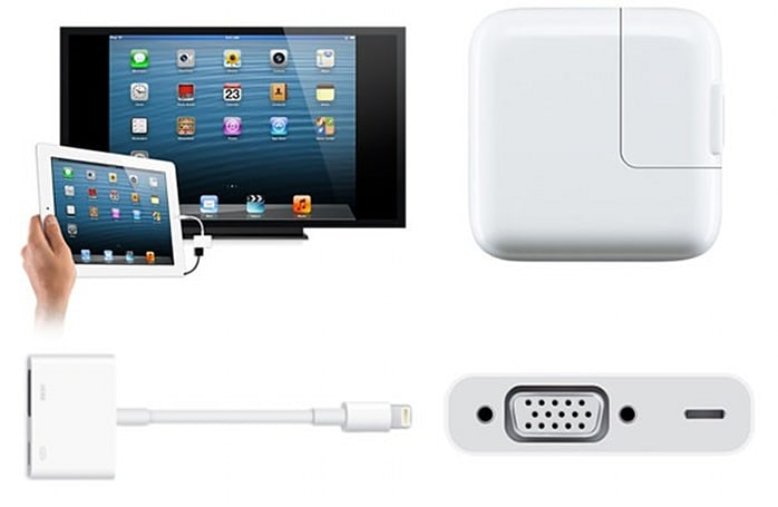 Apple Store now has Lightning to HDMI and VGA adapters at $49 a pop, souped-up iPad charger
