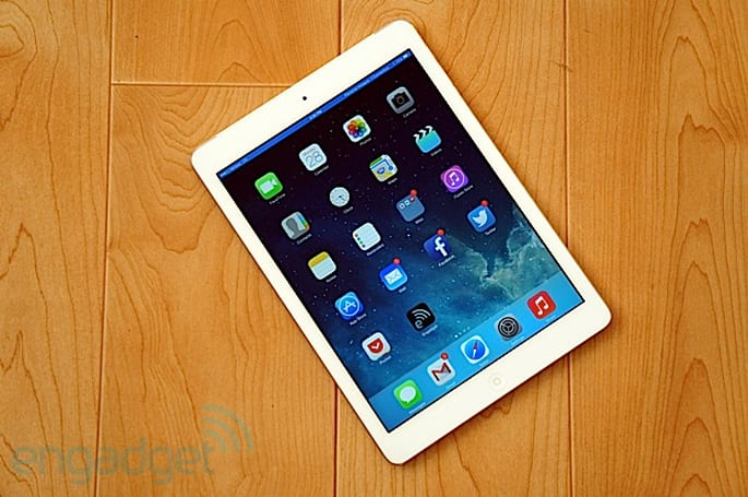 Three to carry iPad Air and new iPad mini in the UK