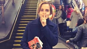 Emma Watson Gives Strangers Advice for $2
