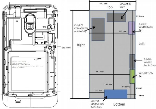 Samsung Galaxy S II with WiMAX stops by the FCC on its way to Sprint