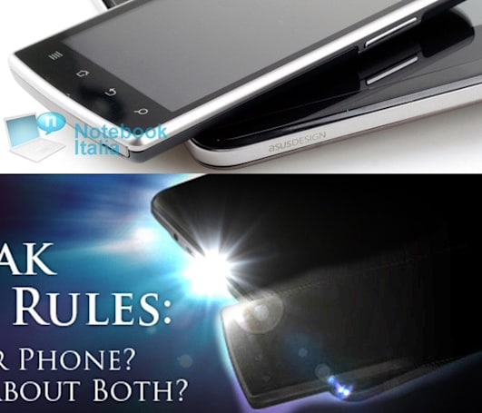 ASUS Padfone shown off in proper brightness ahead of launch? (Update: new mockup)