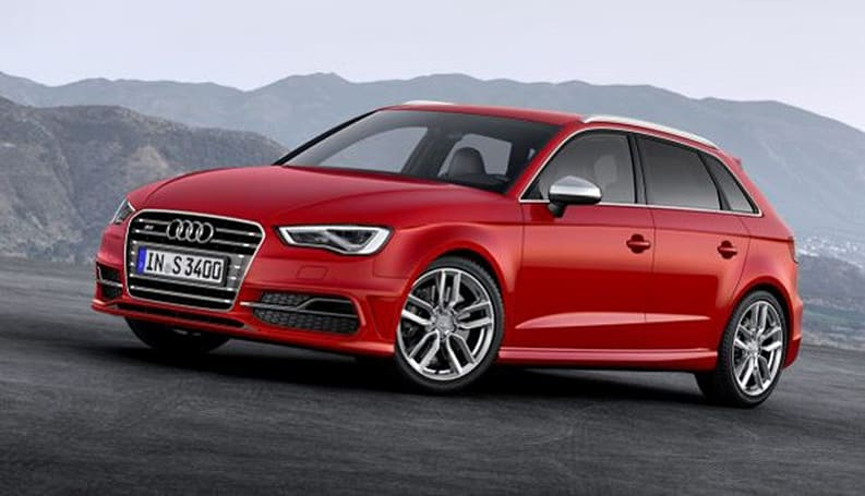Audi's LTE S3 Sportback at European dealers now, 4G A3 hits US next spring
