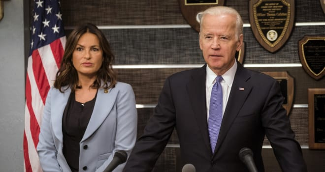 joe biden, vice president, SVU, law and order, guest star