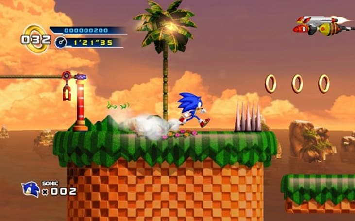 Sonic 4 Episode 2 rolling into place in 2012