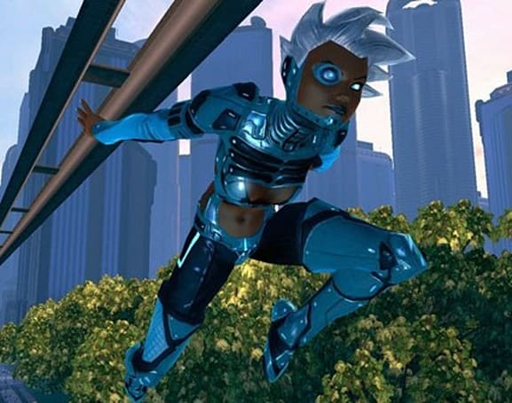 Slick hair, cool poses in newest DC Universe Online screens
