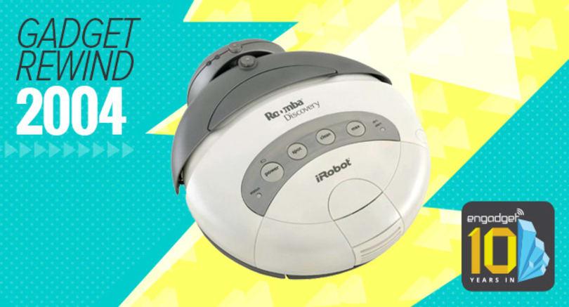 Gadget Rewind 2004: iRobot Roomba Discovery
