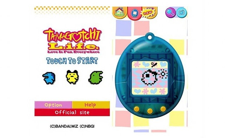 Tamagotchi celebrates its super sweet 16 with an Android app, Ferrari cake nowhere in sight