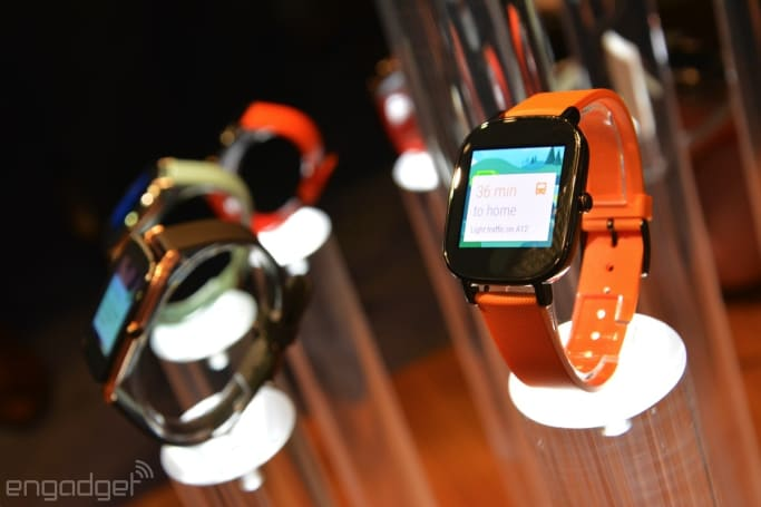 ASUS' ZenWatch 2 launches in the Google Store