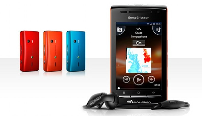 Sony Ericsson slaps Walkman logo on X8, renames it W8