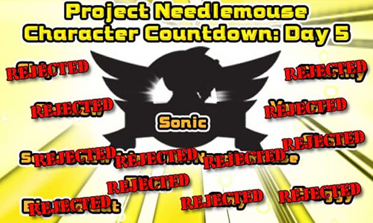 Sonic's pals rejected from Project Needlemouse
