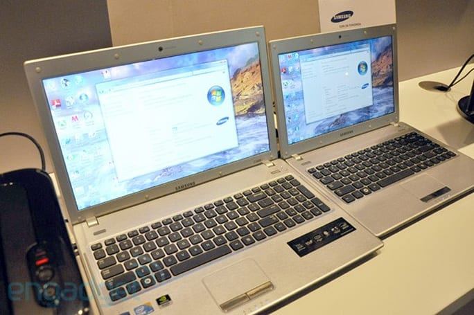 Samsung Q330, Q430 and Q530 slim laptops to invade Britain in July