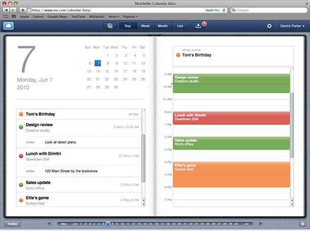 Apple's MobileMe iDisk App updated for iPad, redesigned Calendar goes beta