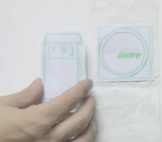 Nokia teases Swipe NFC payment system for digital receipts, warm eco-friendly feeling