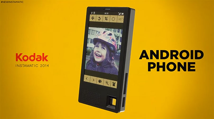 Kodak's finally making smartphones (sort of)