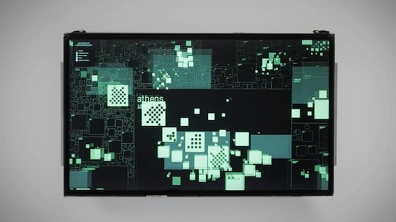 The Deleted City visualizes GeoCities as it was, today