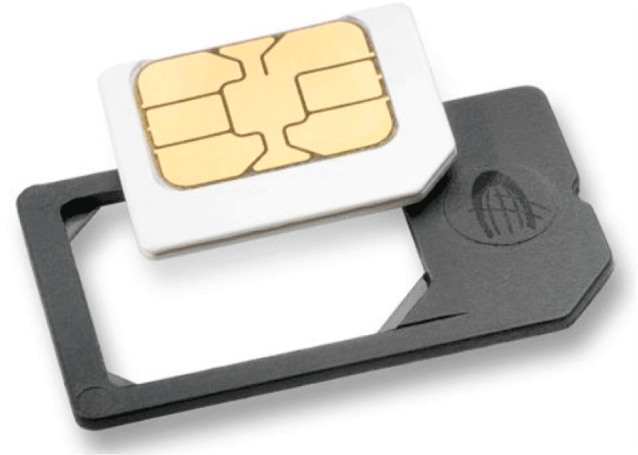MicroSIM adapter moves your service back to an earlier iPhone