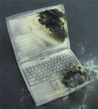 "Dell knew about ""dozens"" of burned laptops two years before recall?"