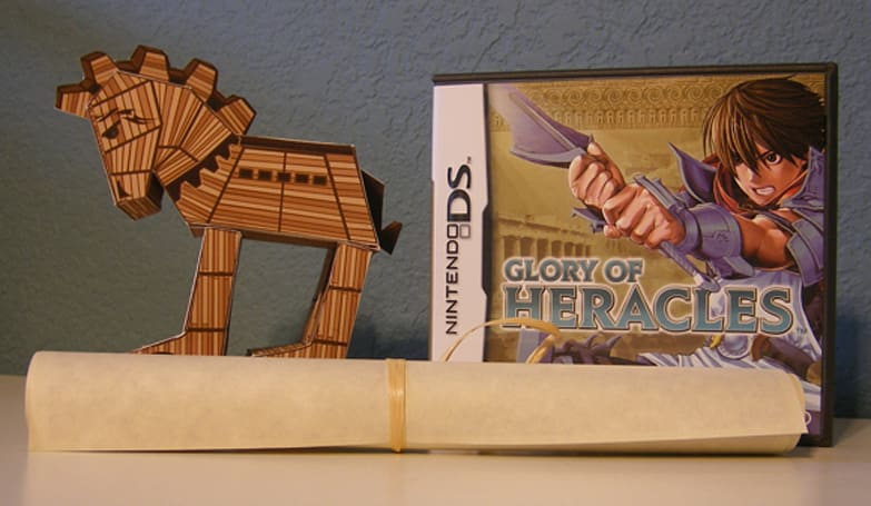 Nintendo sends glorious papercraft with Glory of Heracles