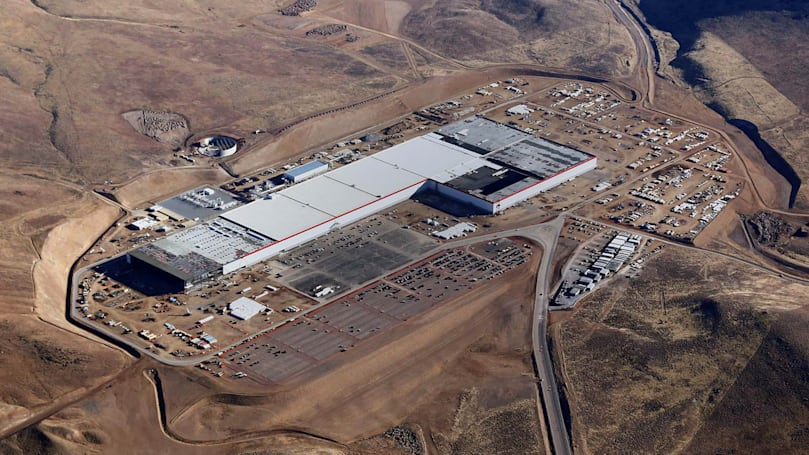 Tesla's Gigafactory ramps up to full battery production