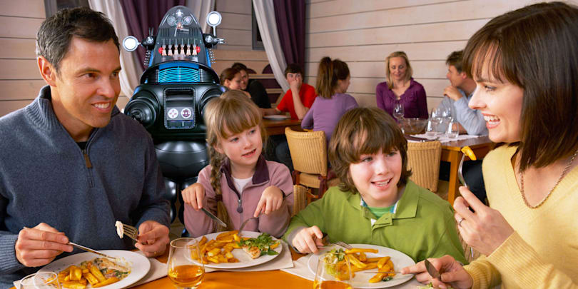 Hiring a robot waiter can cost you your business
