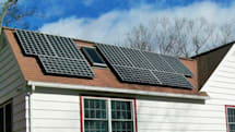 The solar panels and inverter we'd buy