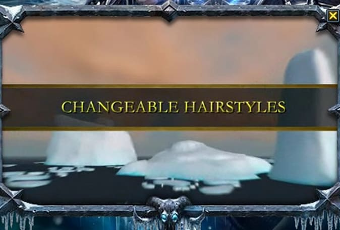 Changeable hairstyles at last!  Long live new dances!