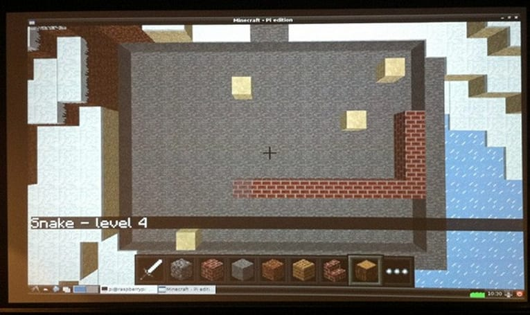 Minecraft Pi Edition ready to download, offers pint-size play on a pint-size PC