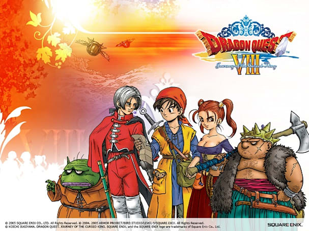 Dragon Quest 8 journeys onto mobiles, out now in West