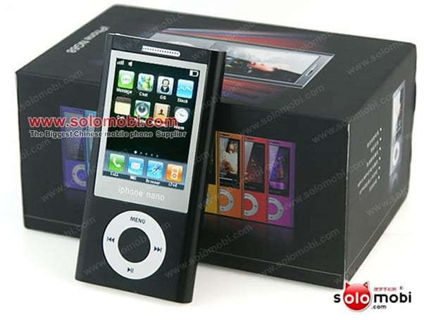 Keepin' it real fake, part CCXXI: Apple's iPhone and iPod nano hook up, combine